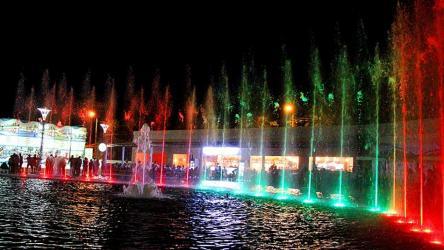 светомузыкальный фонтан Одесса