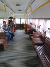 Одесса, экскурсия, трамвай, ретро