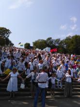 Одесситы в День Независимости Украины установили новый рекорд