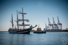 В Одессу приплыл итальянский парусник