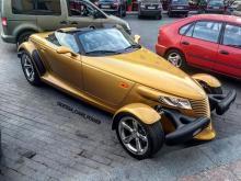 Золотой ретро кабриолет