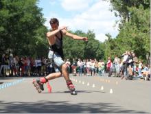 Лучшие роллеры показали свое мастерство на Odessa roller fest